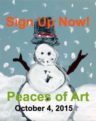 Peaces of Art Sign-Up
